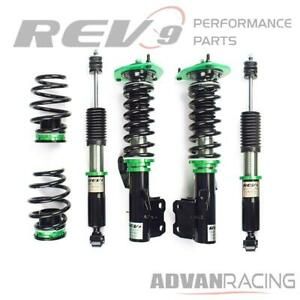 Hyper street One Lowering Kit Adjustable Coilovers For Nissan Versa c11 07 13