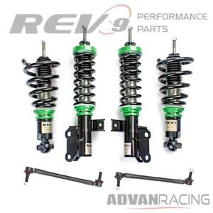 Hyper street One Lowering Kit Adjustable Coilovers For Chevy Camaro Coupe 10 15