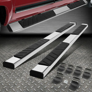 For 15 20 Ford F 150 Extended Super Cab 5 Flat Side Step Bar Running Boards