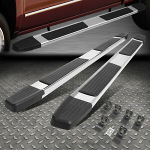 For 09 20 Dodge Ram Truck Quad Extended Cab 6 Flat Side Step Bar Running Board