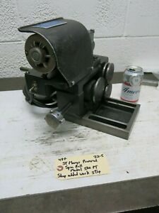 St Marys Model 500pt Electric Powered Spin Roll Grinding Fixture