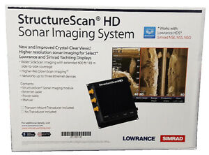 Lowrance StructureScan HD Sonar module system + LSS-2 Transducer