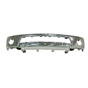 Ni1002143 New Replacement Front Bumper Face Bar Fits 2005 2019 Nissan Frontier