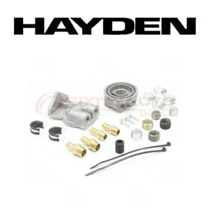 Hayden Oil Filter Remote Mounting Kit For 2010 Mazda 3 2 5l L4 Engine Ba