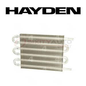 Hayden Transmission Oil Cooler For 2001 2009 Honda Odyssey 3 5l V6 Auto Mg