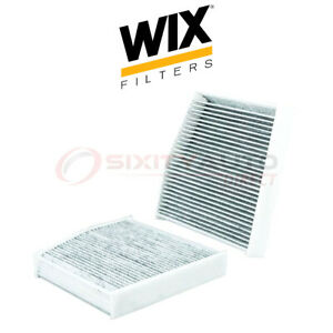 Wix Cabin Air Filter For 2014 2018 Mercedes benz Cla45 Amg 2 0l L4 Hr
