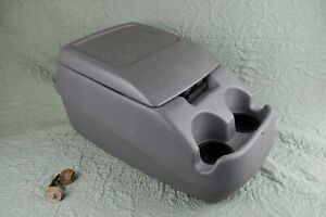 1992 1996 Ford Bronco F150 F250 F350 Center Console Gray Obs Oem Complete