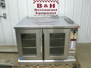 Lang Stainless Steel Single Deck Electric Bakery Convection Oven Ecof c cn