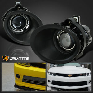 For 2014 2015 Chevy Camaro 3 6l V6 Clear Projector Bumper Driving Fog Lights