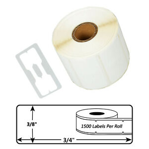 30299 1500 Labels P r Jewelry Price Tag Labels Barbell 2 up For Dymo Lw 400 Duo