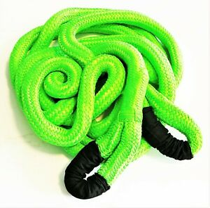 Grip 1 1 4 X 30 Kinetic Energy 4x4 Truck Tow Recovery Rope 37422lb Strap Snatch