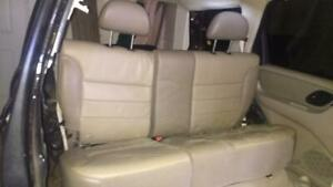Ford Escape Oem Complete Rear Leather Seat 2000 2004
