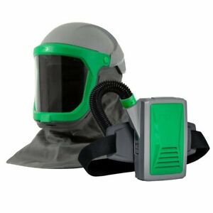 Z link Respirator Helmet Papr Or Supplied Air Adjustable Fit Wide View Rpb