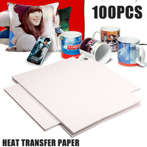 Us 100 Sheets A4 Sublimation Heat Transfer Paper For Polyester Cotton T shirt Su