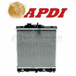 Apdi Radiator For 1992 2000 Honda Civic 1 5l L4 Cooler Cooling Antifreeze Hj