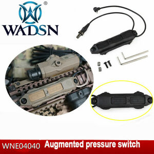 WADSN Augmented Pressure Switch Double For Airsoft Tactical Light PEQ 1516A DBAL $24.93