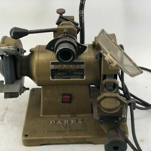 Darex M1 With One Chuck Drill Sharpener On Heavy Metal Stand Used