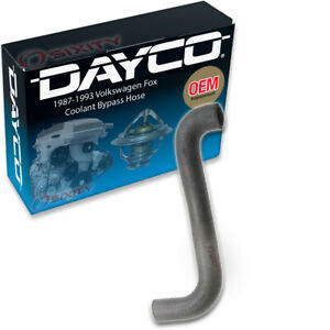 Dayco Coolant Bypass Hose For 1987 1993 Volkswagen Fox Radiator Engine Ff