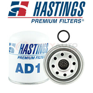 Hastings Air Brake Compressor Air Cleaner Filter For 2007 Peterbilt 340 7 2l Nr