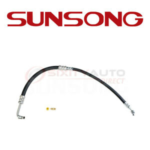Sunsong Power Steering Pressure Line Hose For 1960 1964 Plymouth Savoy 3 7l Dn