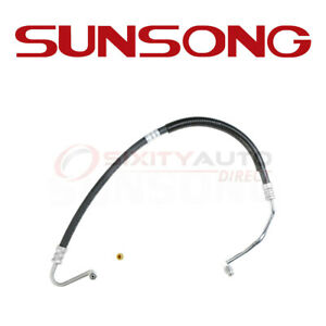 Sunsong Power Steering Pressure Line Hose For 1994 1995 Ford Mustang 5 0l Wa