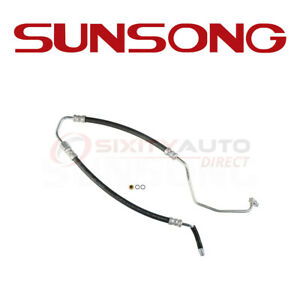 Sunsong Power Steering Pressure Line Hose For 2008 2010 Ford Expedition 5 4l Dh