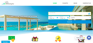 Established Profitable Travel Booking Turnkey Website Automated Business