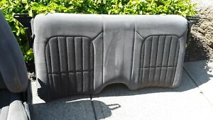 1998 Camaro Seats Front Back Grey Gm Oem Nice Clean