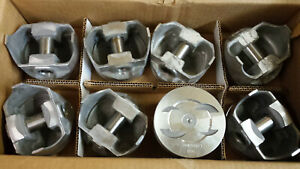 302 Ford Forged Pistons Dished 040 Over L2305f Trw Set Of 8