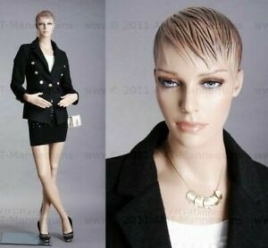 Female Mannequin Realistic Full Body Manikin base Hand Made Mannequin Fh28