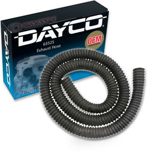 Dayco 63525 Exhaust Hose Dynamometer Vent Central Garage Exhaust Wi