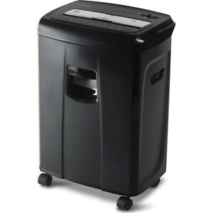 Aurora 12 sheet Crosscut Paper And Credit Card Shredder With Pullout Basket Shre
