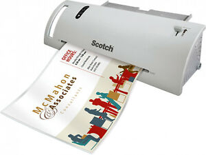 Laminator Machine Scotch Thermal 2 Roller System Fast Warmup Photos Signs Flyers