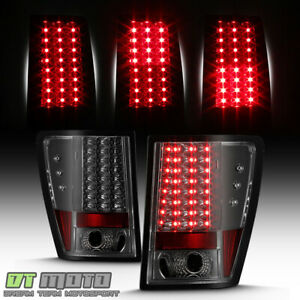Smoked 2005 2006 Jeep Grand Cherokee Lumileds Led Tail Lights Lamps Left right