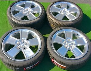 Camaro 21 Inch Wheels Tires 2ss Set 4 Genuine Gm Oem Factory Forged Polished Rs