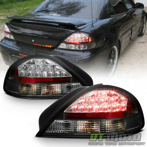 1999 2005 Pontiac Grand Am Lumileds Black Led Tail Lights Left Right Set