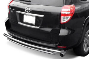 Stainless Double Layer Rear Bumper Guard Fits 06 18 Toyota Rav4