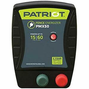 Patriot Pmx50 Electric Fence Energizer 0 50 Joule