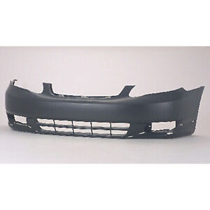 To1000241 New Replacement Front Bumper Cover Fits 2003 2004 Toyota Corolla