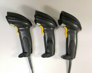 Lot Of 3 Motorola Symbol Ds6608 hd20007r Barcode Scanner tested