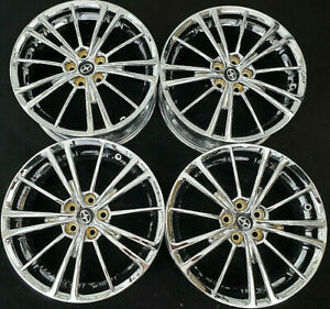 Toyota 86 Corolla Prius Factory Original Oem 17 Inch Chrome Wheels Rims 69621