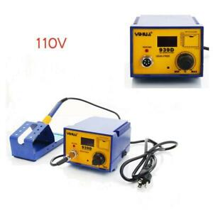 Yihua 939d Smd Electric Rework Soldering Iron Station Welder Kit 110v Durable