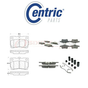 Centric Semi Metallic Brake Pads W Shim For 2012 2017 Peugeot 508 1 6l L4 Vr