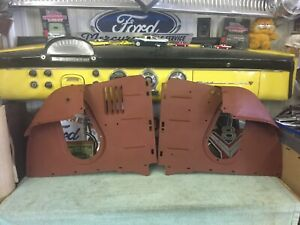 1956 Ford L R Air Deflector Panels Fender To Radiator