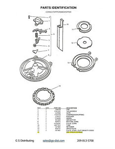 John Deere Corn Cutoff Parts For Seed Bottom B29473