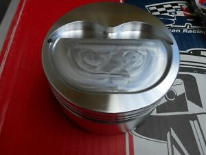Srp 383 Stroker Pistons 4 030 Bore 3 750 Stroke 6 00 Rods Forged Invented Dome