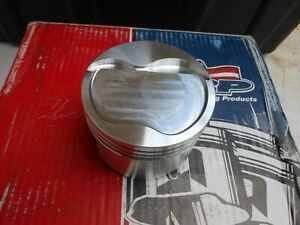 Srp Forged Piston Set 4 030 Bore 351w Dish Stroker 392 Cu 3 850 Stroke 5 956