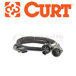 Curt Trailer Tow Harness Wiring Connector For 2003 2015 Gmc Sierra 1500 4 3l Zd
