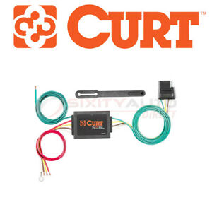Curt 56130 Trailer Wire Converter For Towing Fu