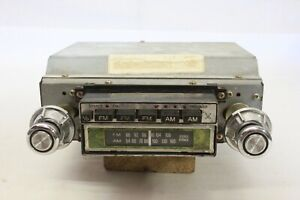 Original 1960 s 1970 s Car Truck Van Sears Am fm Stereo 8 track Player 504 50493